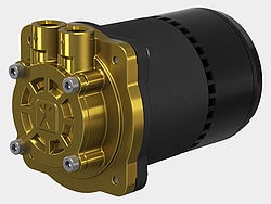 Speck regenerative turbine pumps – Close-coupled pumps with canned motor