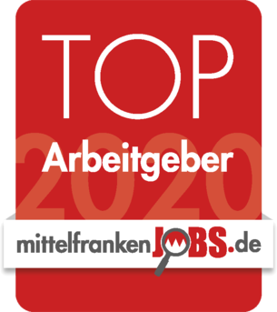 Siegel MittelfrankenJobs Top-Arbeitgeber 2020