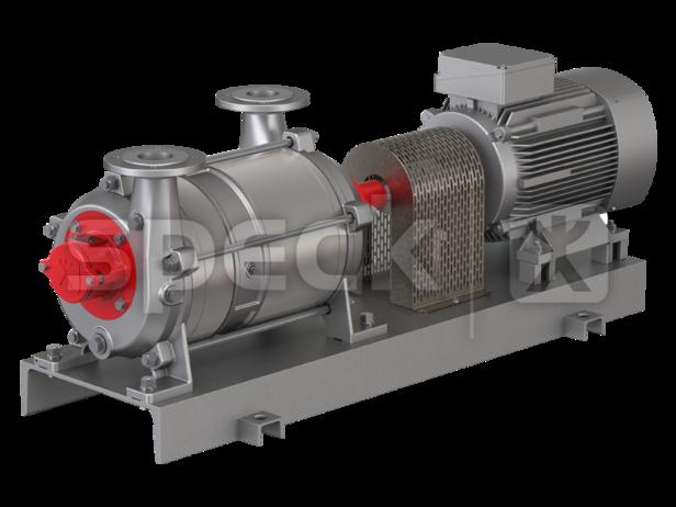 Speck Flüssigkeitsring-Vakuumpumpe VHC