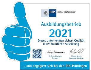 Speck ist anerkannter Ausbildungsbetrieb der IHK Nürnberg
