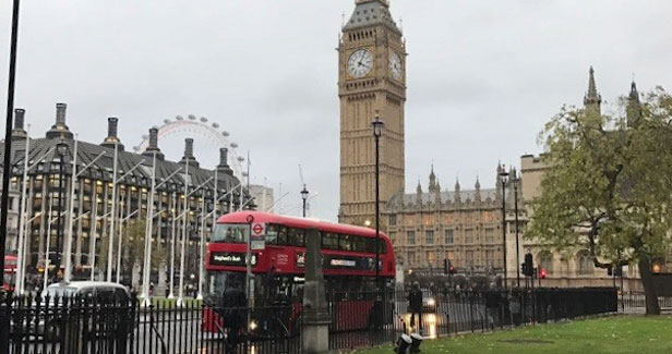 Londonaufenthalt