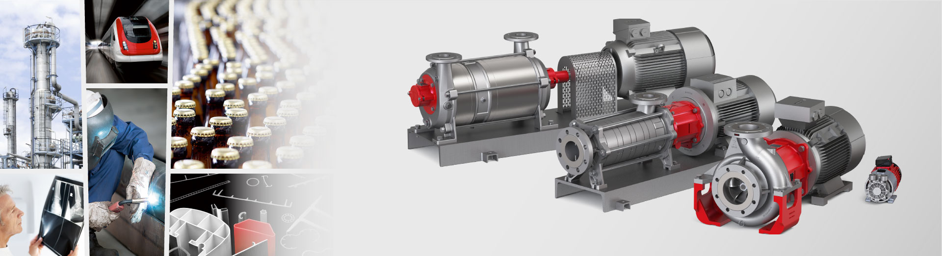 High-quality  pumps  and compressors  for industry
