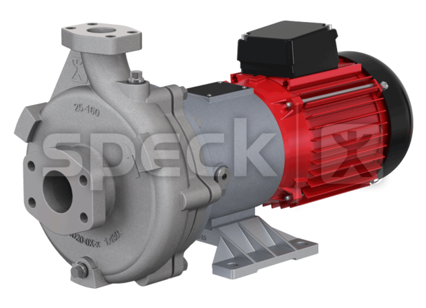 Speck centrifugal pump, type MU025160-MK-PM, version stainless steel